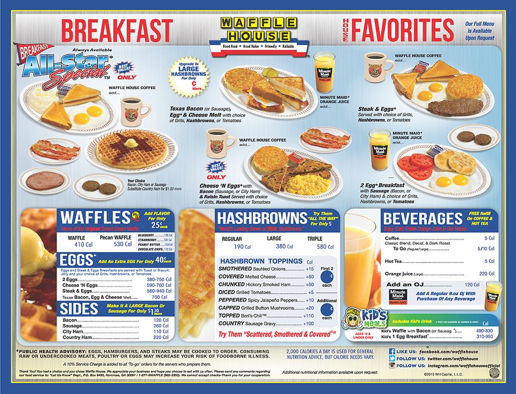 wh menu