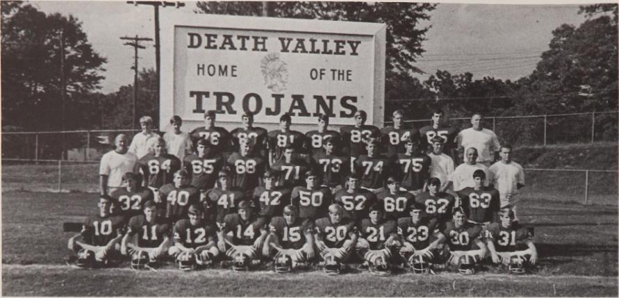 1969 Trojans yearbook