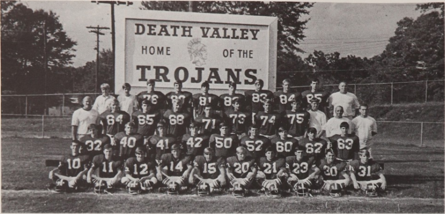 1969 Trojans yearbook