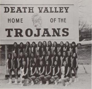 drill team trojan yearbook