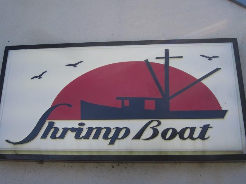 shrimp boat sign